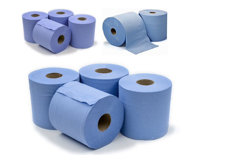 Image of From £7.99 for a six rolls of hand towels or £14.99 for 12 rolls of hand towels TLD Retail