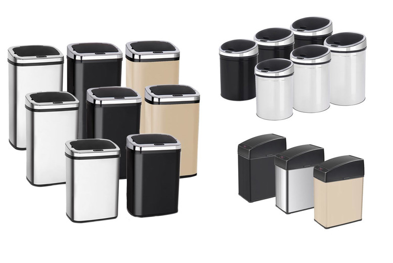 Image of From £17.99 for an automatic sensor kitchen bin - help keep your home clean!