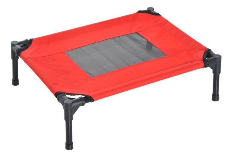 Image of From £22.99 for a Elevated Black & Red Pet Bed - 2 Sizes! from Mhstar Uk Ltd - save up to 54%