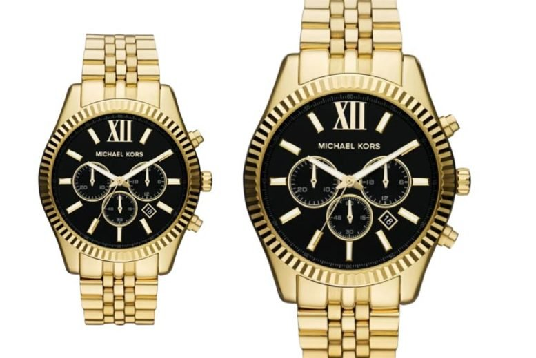Image of £109 instead of £279 for a Michaels Kors MK8286 men's lexington chronograph watch from CJ Watches - save 61%