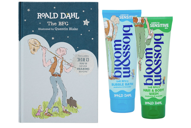 Image of £12 instead of £23 for a BFG Bedtime Bundle from Bloom & Blossom - add a little magic to their bedtime with a bundle themed after Roald Dahl's classic and save 48%