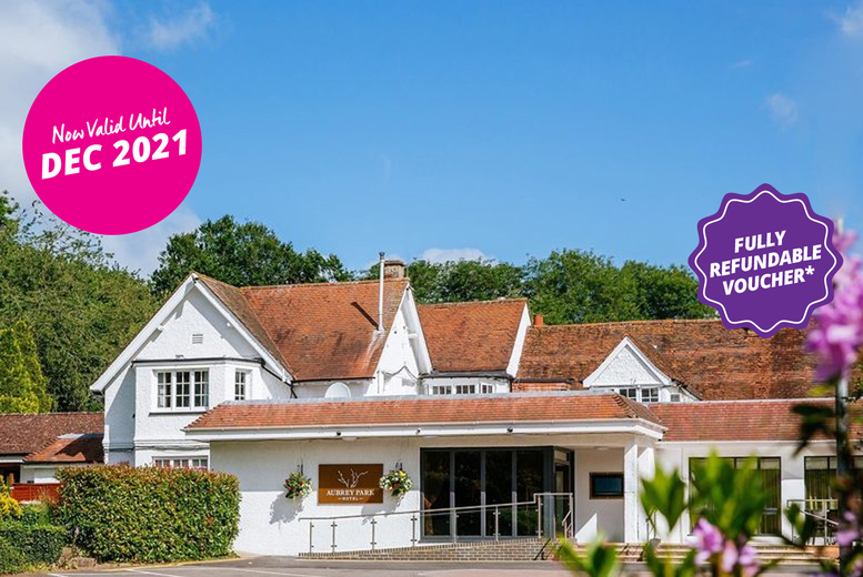 Image of A St Albans stay at 4* Aubrey Park Hotel for two with a two-course dinner on one night, breakfast and 12pm late checkout. From £89 for an overnight stay in a standard room, or from £109 to stay in an executive room - save up to 48%