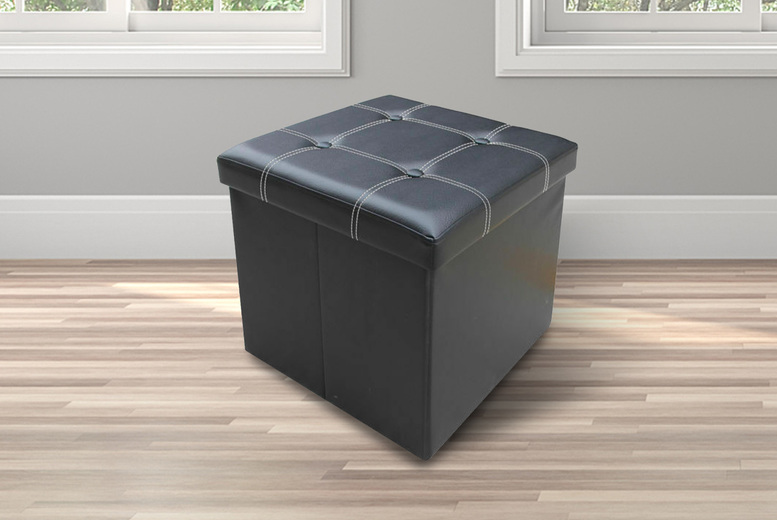Image of From £12 for a foldable ottoman storage chest from Direct2publik - save up to 61%