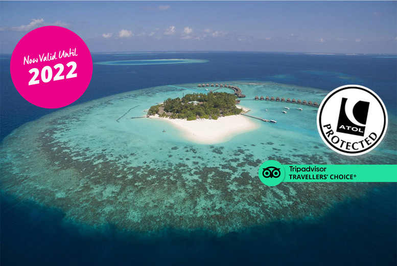 Image of An all-inclusive 4* Maldives hotel stay with return flights from three airports. From £1139pp for seven nights, or from £1659pp for 14 nights - save up to 21%