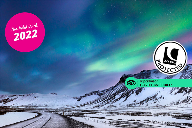 Image of A 4* Reykjavik, Iceland hotel stay with return flights from four airports. From £129pp for two nights, from £189pp for three nights, or from £219pp for four nights - save up to 49%