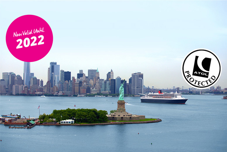 Image of A 10-night full-board Transatlantic fly cruise aboard the Queen Mary 2 with a 4* New York hotel stay, Empire State Building Observatory ticket and return flights. From £999 - save up to 58%