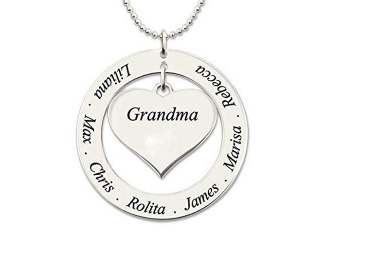 Image of £12 instead of £37 for a personalised name family necklace from My Name Chain - save 68%