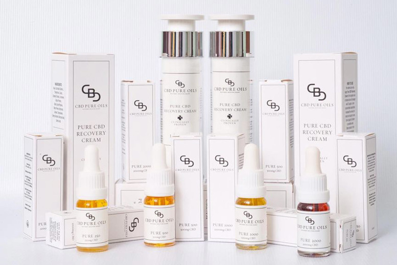 Image of £2.50 for 45% off orders from CBD Pure Oils - discover 'nature's helping hand' through their expertly crafted range of vegan friendly, organic products!