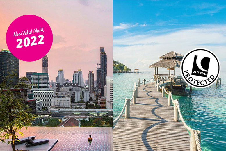 Image of A 4* Bangkok and Phuket, Thailand twin centre holiday with breakfast and return flights from four airports. From £649pp for seven nights, or from £779pp for 14 nights - save up to 40%