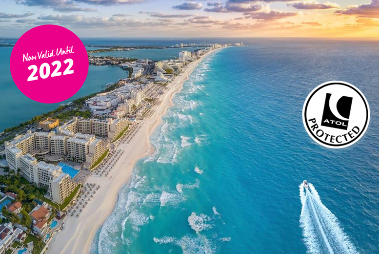 Image of An all-inclusive 4* Cancun, Mexico hotel stay with return flights from three airports. From £799pp for seven nights, from £969pp for 10 nights, or from £1129pp for 14 nights - save up to 46%