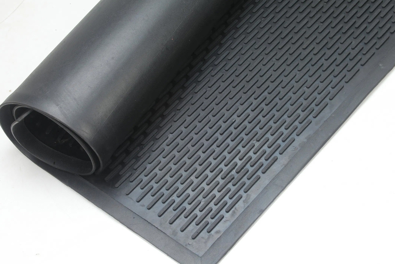 Image of From £14.99 for a rubber non-slip ridged mat from Mats World - save up to 70%