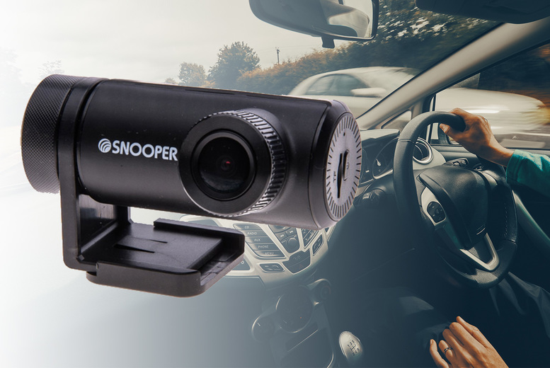 Image of £59 instead of £129.99 for a Snooper DVR-WF1 HD dash camera from Car Audio Centre - save 55%
