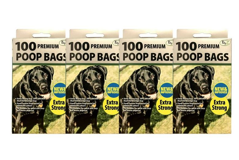 Image of From £2.99 for TidyZ Fragranced Extra-Strong Pet Waste Bags