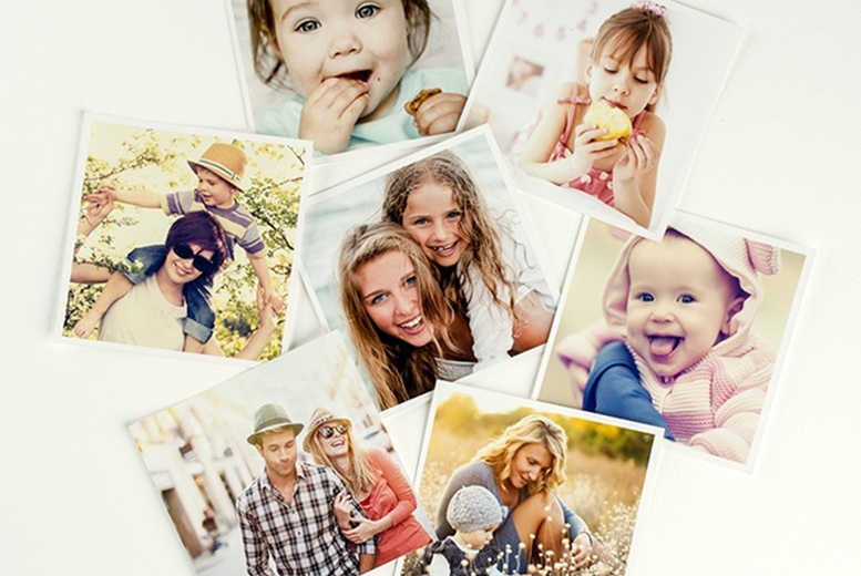 Image of £6.99 for 25 13x13cm 'Insta' photo prints, £9.49 for 50, £12.49 for 75 or £15.99 for 100 from Colorland!
