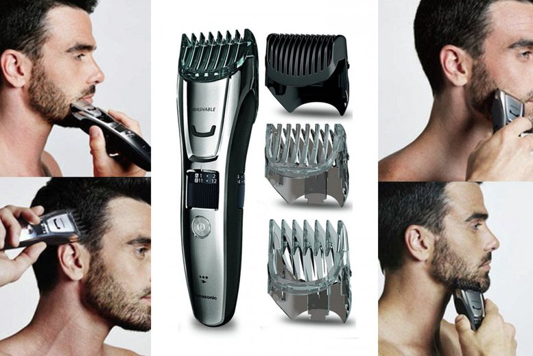 Image of £44.99 instead of £69.99 for a Panasonic men's hair trimmer from Magic Vision - save 36%