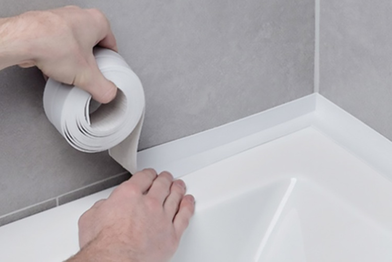 Image of From £6.99 for a roll of PVC waterproof sealing tape, or £12.99 for two rolls, or £18.99 for four rolls from Magic Trend - choose from seven colours!