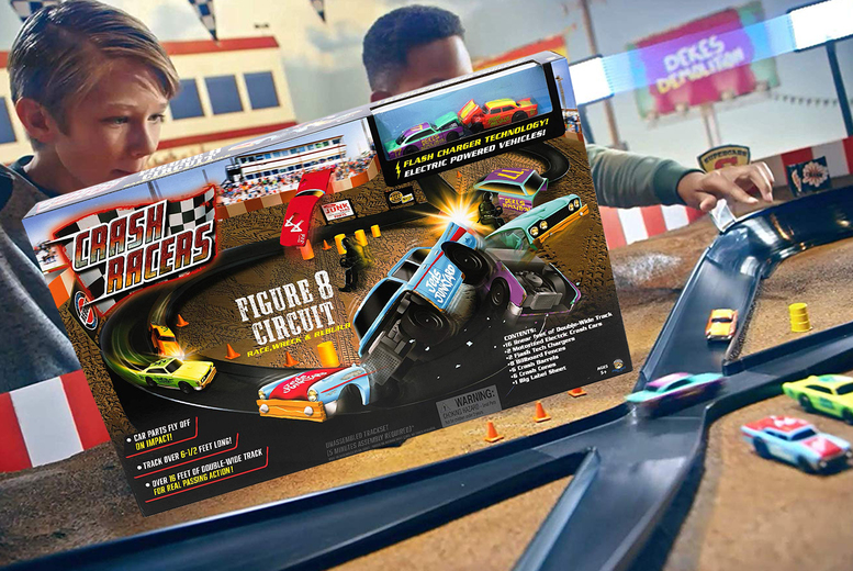 Image of £21.99 for a bladez toyz figure eight racing track!
