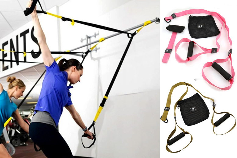 Image of £16.99 instead of £89 for a resistance band and door anchor set from Fantasy Supply - save 81%