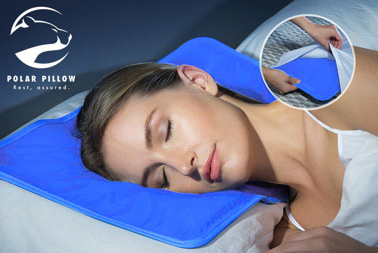 Image of £7.99 instead of £20 for a pack of two gel cooling pillows or £12.99 for a pack of four from My Cambay - save up to 60%