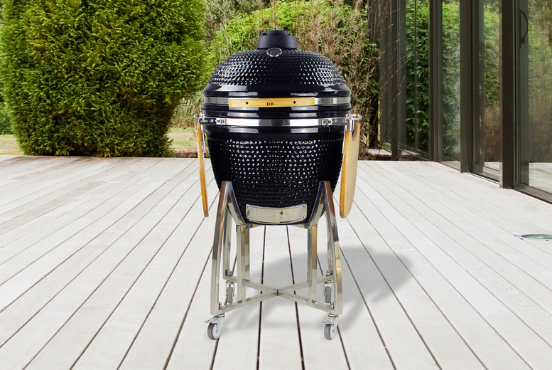 Image of £599 instead of £929 for a Kamado 21 barbecue grill from Mi-Fires - save 36%