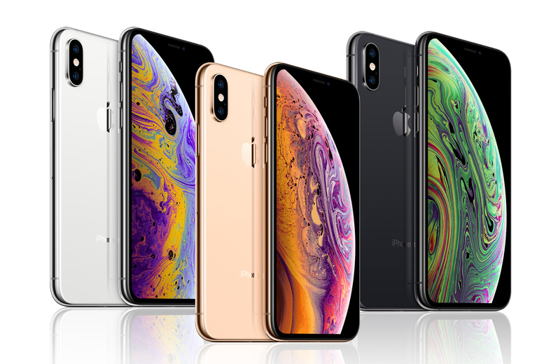 Image of £299 for a Good refurbished Apple iPhone XS or £319 for a Very Good refurbished iPhone XS in gold, grey or silver!