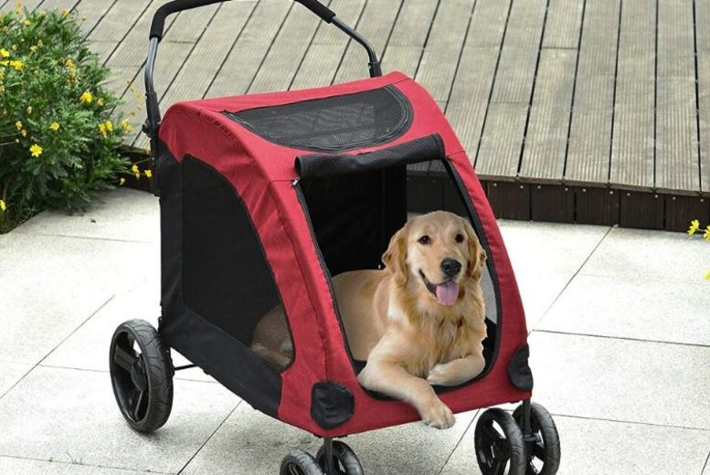 Image of From £99 for Spacious Dog Stroller - 3 Colours! from Mhstar Uk Ltd - save up to 38%