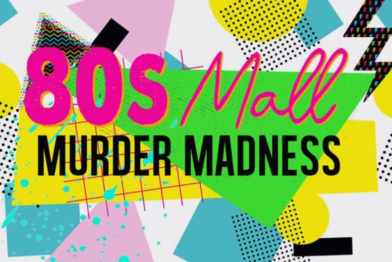 Image of £10 instead of £27.57 for an 80's Mall Murder Madness virtual murder mystery game from Broadway Murder Mysteries - download the game files, distribute among your friends, and uncover the truth of the murder - save 64%