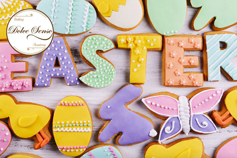 Image of £10 for a Personalised DIY Easter Bunny Cookie Kit from Dolce Senso