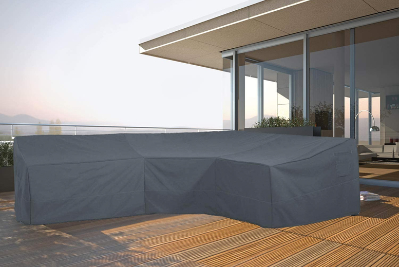 Image of From £21.99 for a 215 x 215 x 87cm garden sofa protective cover from Wish Whoosh Offers - choose your size!