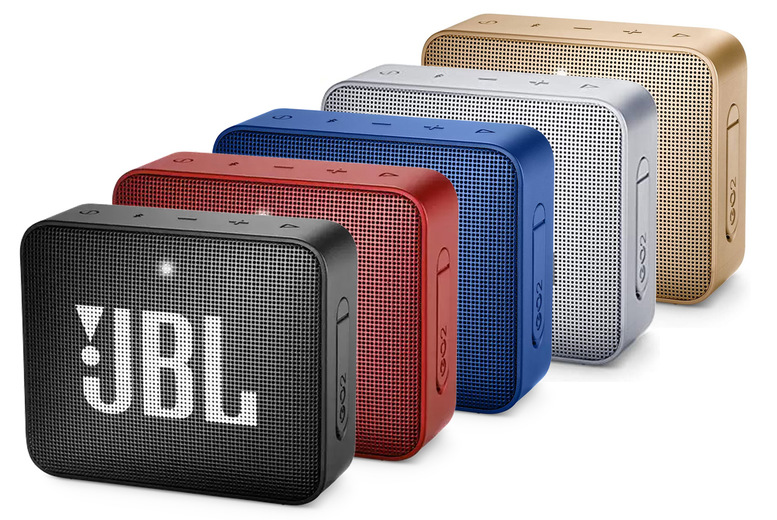 Image of £19.99 instead of £39.99 for a JBL Bluetooth Go 2 speaker from Magic Vision - save 50%