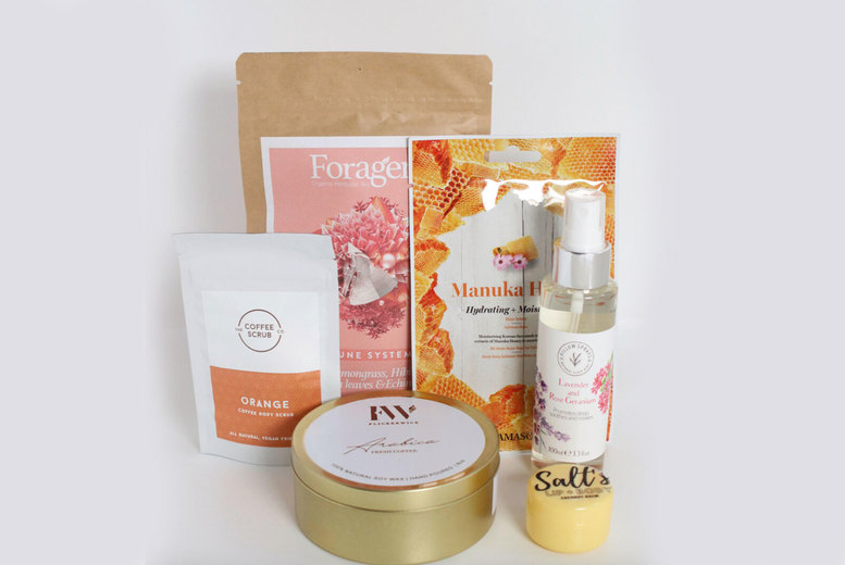 Image of £19 instead of £50 for an 'All About Me' Home Pamper Package from Feel Good Box - save 62%