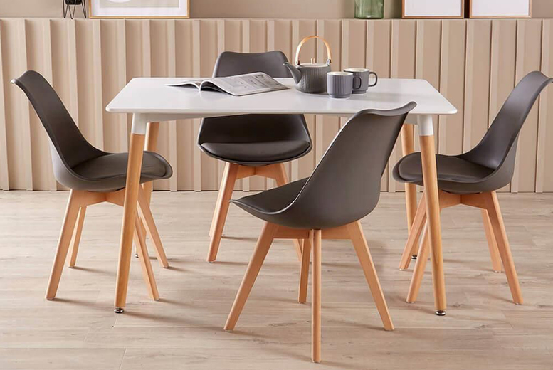 Image of From £149 instead of £329 for a dining chair set from Furniture Dealz - save 55%