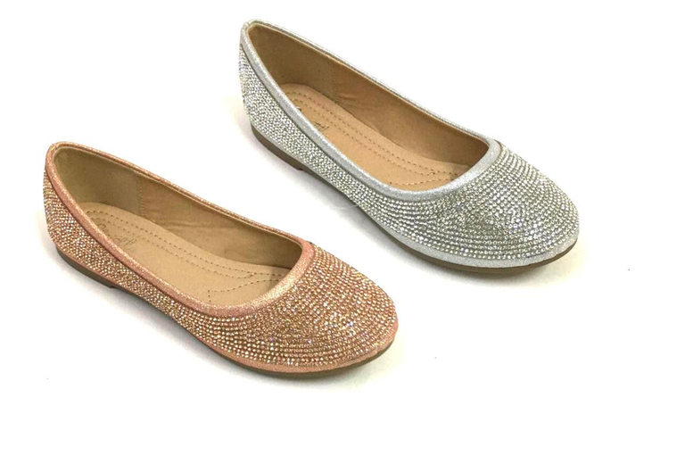 Image of £11 for a pair of girls' sparkly pumps from Shoe Fest!