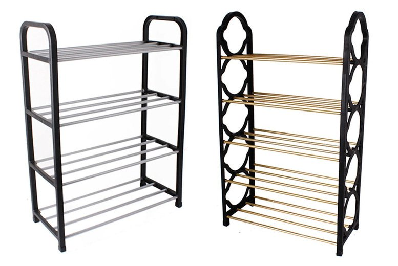 Image of £4.99 instead of £24.99 for a four-tier shoe rack or £6.99 for a five-tier shoe rack from Gifts I Want - save up to 80%