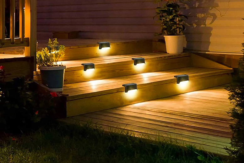 Image of From £4.99 instead of £19.99 for a solar deck light from Secret Storz - choose your quantity and save up to 75%