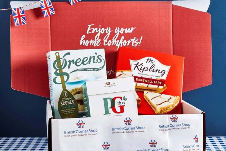 Image of £3 for a 40% off British Classics hampers from British Corner Shop