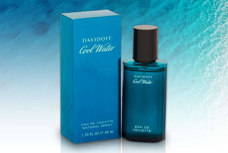 Image of £11.50 instead of £39.99 for a 40ml bottle of Davidoff Cool Water Man eau de toilette - save 71%