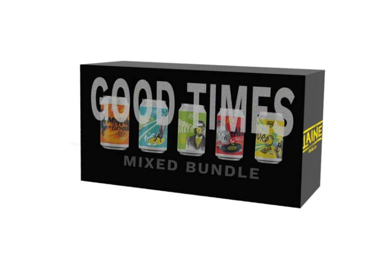 Image of £14.99 instead of £30 for a 'Very' Good Times Mixed Pack craft beer hamper from Laine Brewing Co - sip on ten delicious beers and save 50%