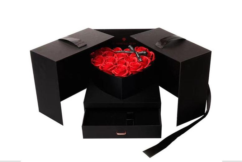 Image of From £35 for a beautiful preserved roses gift box from 5IVE LTD - save up to 65%