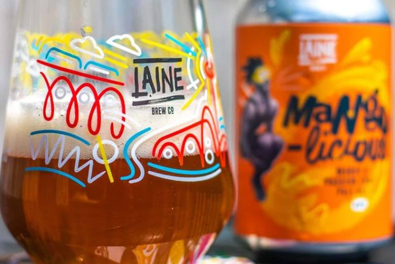 Image of £14.99 instead of £30 for a Good Times Mixed Pack beer hamper from Laine Brewing Co - sip on ten delicious tipples and save 50%