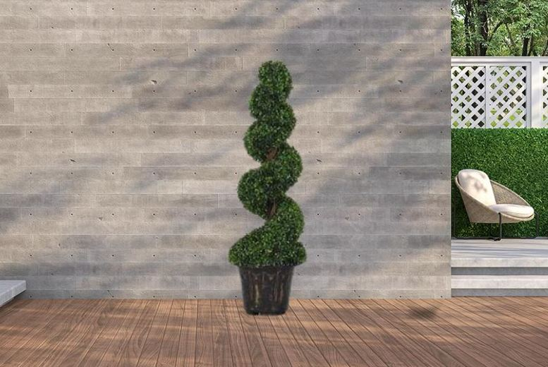 Image of £65 instead of £99.99 for a 1.2m Artificial Spiral Tree from 5IVE LTD - save 35%