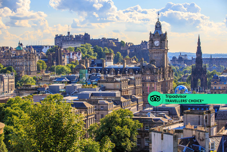 Image of An Edinburgh stay at Brooks Hotel for two people with breakfast, one bottle of wine to share on arrival, afternoon tea and late checkout. £89 for one night, or £149 for two nights - save up to 63%