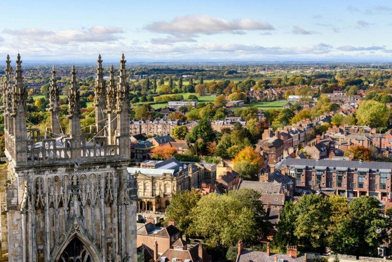 Image of A central York stay at The Georgian House for two people with breakfast, one bottle of Prosecco, cream tea and late checkout. From £89 for one night, or from £139 for two nights - save up to 44%