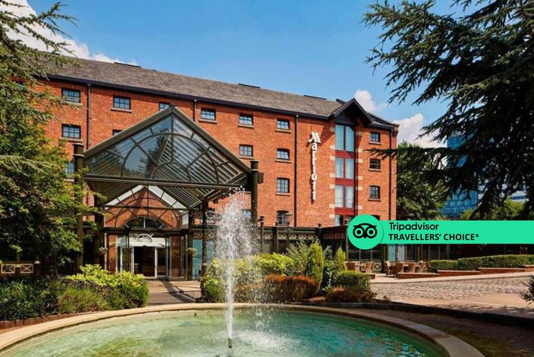 Image of A 4* Manchester stay for two with breakfast and 12pm late check out. From £69 for an overnight stay, £89 to include one bottle of Prosecco, £139 for a three-course meal and glass of wine, or £149 for two nights with bottle of wine - save up to 43%