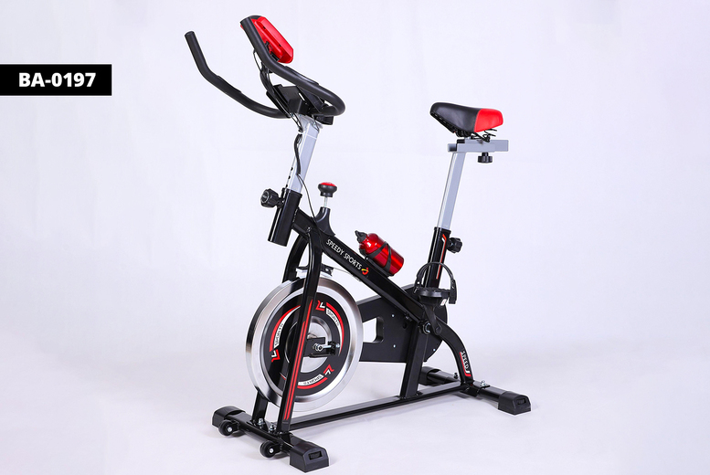 Image of £139 for an exercise spin bike with pulse or flywheel 10kg from Bright Associates - save up to 76%