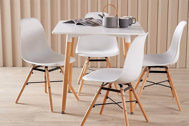 Image of From £119 for a Faro dining furniture set from Furniture Dealz - choose from four options!