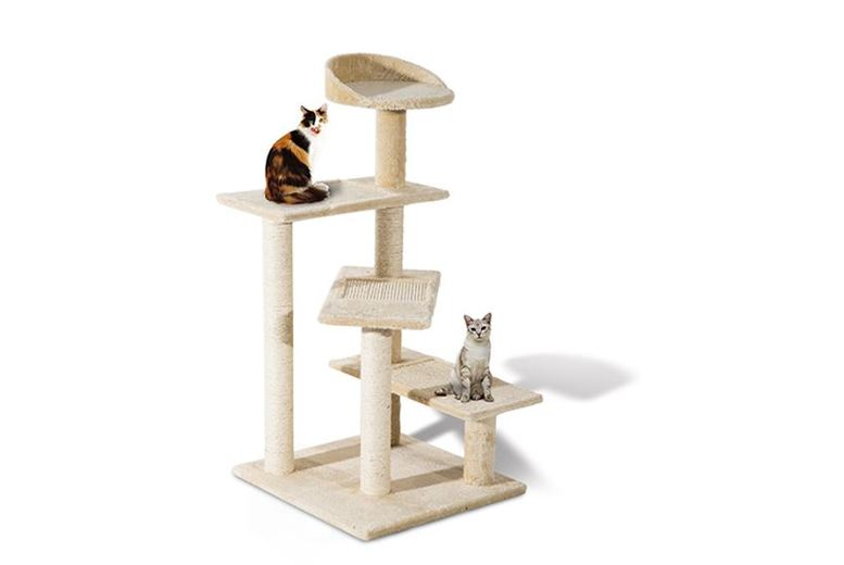 Image of From £39.99 for a Cat Scratching Tree Post - 2 Colours! from Mhstar Uk Ltd - save up to 32%