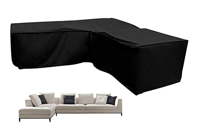 Image of From €26.99 instead of €58.31 for a waterproof V shape corner outdoor sofa cover from from EC Life-Style - save up to 54%
