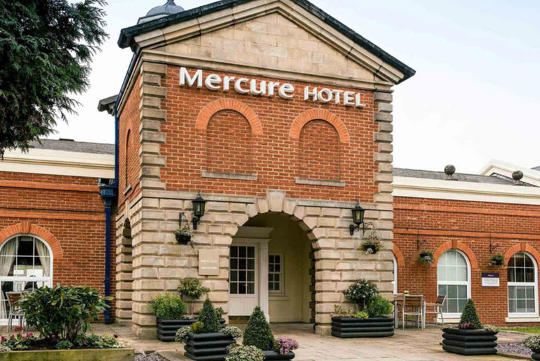 Image of A Haydock, Merseyside stay at the 4* Mercure Haydock Hotel for two people with breakfast, one bottle of wine and 1pm late checkout. From £55 for one night - save up to 59%