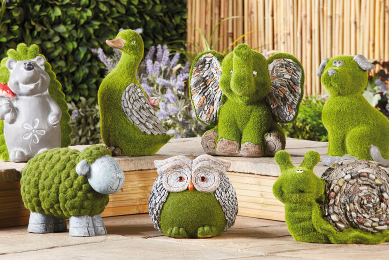 Image of From £13.99 instead of £27.99 for a flocked effect garden ornament from Thompson & Morgan - save up to 50%
